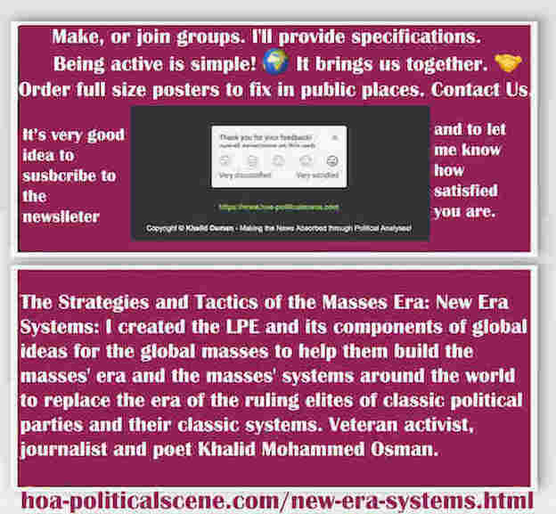 hoa-politicalscene.com/new-era-systems.html - The Strategies and Tactics of the Masses Era: New Era Systems: I created Masses Era strategies & tactics for global masses to help them build masses era.
