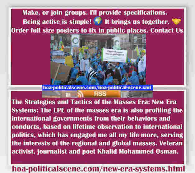 hoa-politicalscene.com/new-era-systems.html - The Strategies and Tactics of the Masses Era: New Era Systems: Masses era LPE profile international governments from their behaviors & conducts.