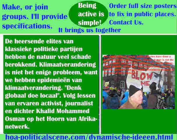 hoa-politicalscene.com/dynamische-ideeen.html - Dynamische ideeën: De heersende elites van klassieke politieke partijen hebben de natuur veel schade berokkend.