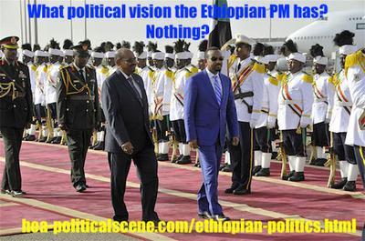 Ethiopian Politics: Prime Minister Abiy Ahmed Ali & Al Bshir!