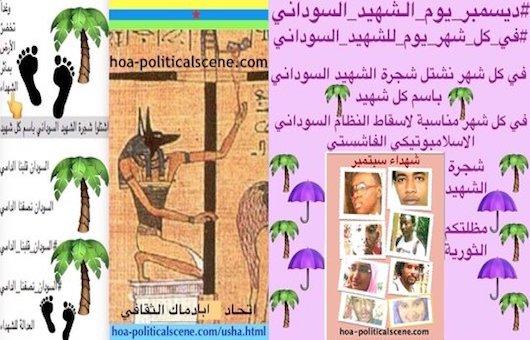 hoa-politicalscene.com/sudan-political-scene.html - Sudan Political Scene: December is an occasion for the Sudanese revolution 10.
