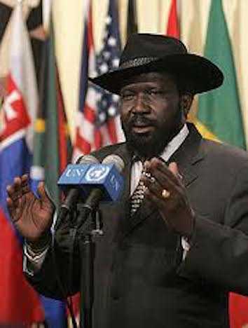 hoa-politicalscene.com - South Sudan: Salva Kiir Mayar, SPLA/SPLM leader and the de facto president of the South.