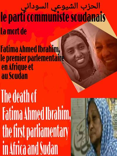hoa-politicalscene.com/invitation-to-comment36.html - Invitation to Comment 36: Sudanese Communist Party bidding Fatima Ahmed Ibrahim a fond farewell.