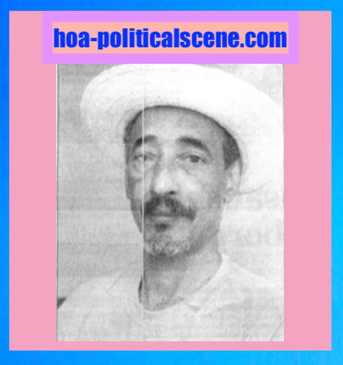 hoa-politicalscene.com/politik.html - Sudanese journalist and human rights activist Khalid Mohammed Osman.