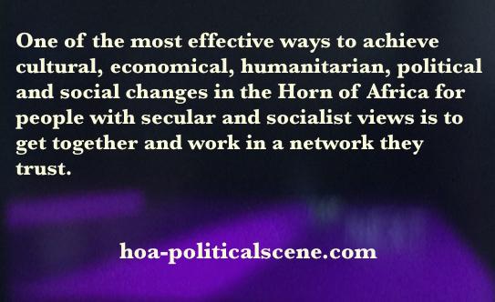 hoa-politicalscene.com/horn-africas-network.html: Horn Africas Network: Secular, Socialist People of the Horn of Africa Unite.