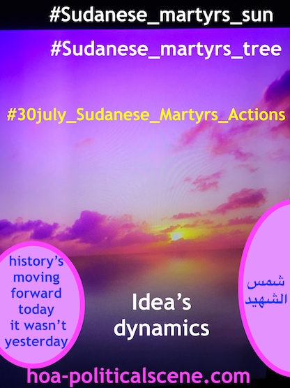 hoa-politicalscene.com/sudanese-martyrs-actions.html - Sudanese Martyr's Actions: The dynamic idea of the Sudanese Martyr's Tree could crush the Sudanese dictators.