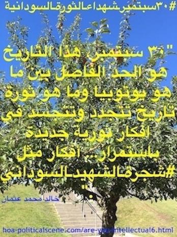 hoa-politicalscene.com/sudanese-martyrs-tree-posters.html - Sudanese Martyr's Tree Posters: to move the masses in a revolution by Sudanese journalist Khalid Mohammed Osman.