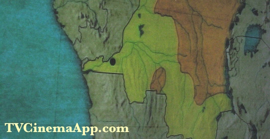 TVCinemaApp.com - Write about DRC: Map, Kabila Taking ⅔ of Congo.