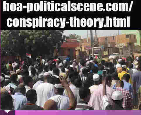 hoa-politicalscene.com/conspiracy-theory.html: The Conspiracy Theory of the Muslim Brothers of Sudan! متى بدأت نظرية المؤامرة للأخوان المسلمين في السودان؟ Sudanese Intifada in January 2019.