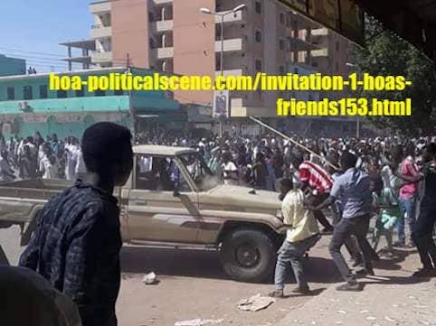 hoa-politicalscene.com/da-shino-in-sudan.html: Da Shino in Sudan: Sudanese people uprising in December 2018. Constitutional means are necessary before hand, to insure the safety of Sudan.