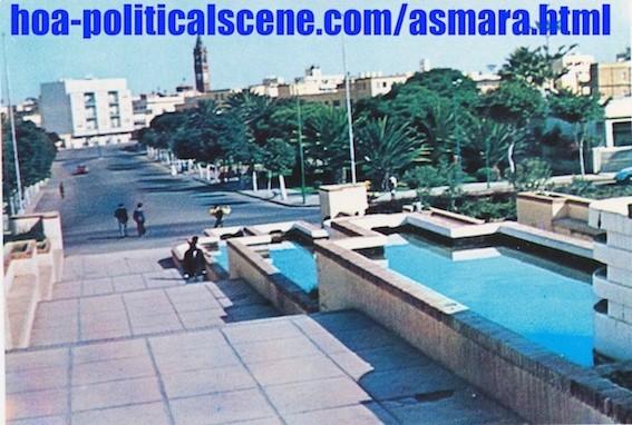 hoa-politicalscene.com/eritrea-country-profile.html - Overlook - view from the Eritrean capital city of Asmara, at Asmara Mai Jahja on the way to Gazabanda Tilian.
