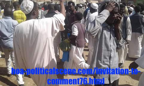 hoa-politicalscene.com/invitation-to-comment76.html: Invitation to Comment 76: Political statements on December 2018 uprising in Sudan بيانات سودانية سياسية شعبية في اطار ثورة ديسمبر 2018م