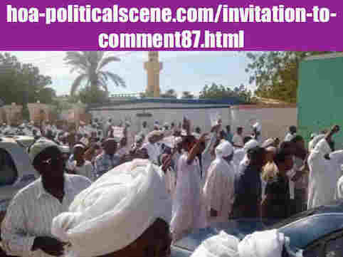 hoa-politicalscene.com/invitation-to-comment87.html: Invitation to Comment 87: يوميات الثورة السودانية في ديسمبر ٢٠١٨م. Diary of the Sudanese uprising in December 2018.