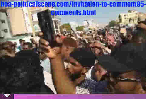 hoa-politicalscene.com/invitation-to-comment95-comments.html: Invitation to Comment 95 Comments: The signatory powers of the Declaration of Freedom and change. القوى الموقعة على إعلان الحرية والتغيير. Sudanese people revolution in January 2019.