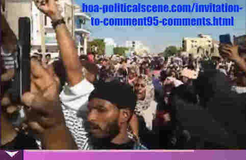 hoa-politicalscene.com/invitation-to-comment95-comments.html: Invitation to Comment 95 Comments: The signatory powers of the Declaration of Freedom and change. القوى الموقعة على إعلان الحرية والتغيير. Sudanese people uprising in January 2019.