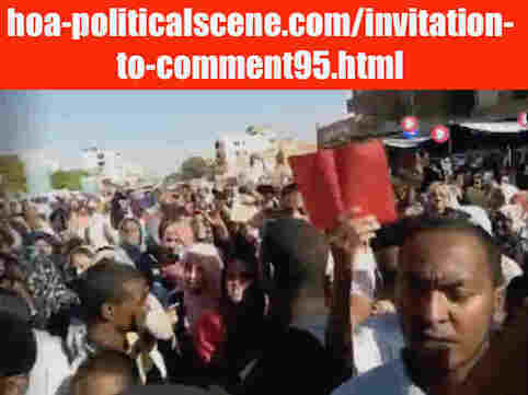 hoa-politicalscene.com/invitation-to-comment95.html: Invitation to Comment 95: The signatory powers of the Declaration of Freedom and change. القوى الموقعة على إعلان الحرية والتغيير. Sudanese people revolution in January 2019.