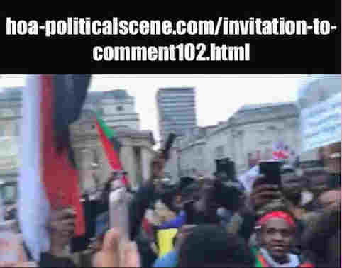 hoa-politicalscene.com/invitation-to-comment102.html: Invitation to Comment 102: Sudanese exterior revolution, January 2019.