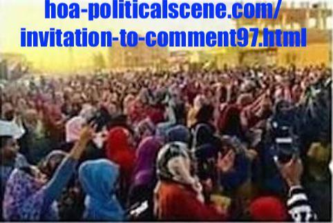 hoa-politicalscene.com/invitation-to-comment97.html: Invitation to Comment 97: About the Sudanese revolution from December 2018 to January 2019! حول الثورة السودانية الممتدة من ديسمبر ٢٠١٨م الي يناير ٢٠١٩م.