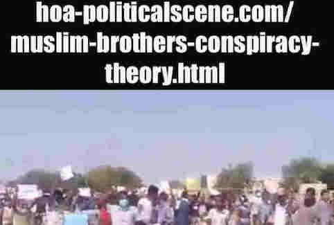 hoa-politicalscene.com/muslim-brothers-conspiracy-theory.html: Muslim Brothers' Conspiracy Theory in Sudan! نظرية التآمر للأخوان المسلمين في السودان؟ Sudanese Intifada in January 2019.