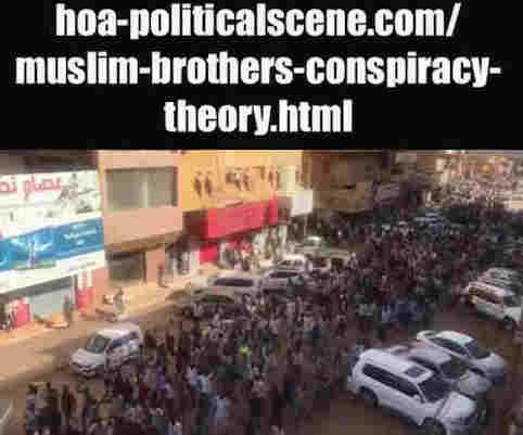 hoa-politicalscene.com/muslim-brothers-conspiracy-theory.html: Muslim Brothers' Conspiracy Theory in Sudan! نظرية التآمر للأخوان المسلمين في السودان؟ Sudanese people revolution in January 2019.