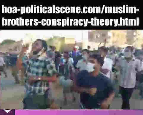 hoa-politicalscene.com/muslim-brothers-conspiracy-theory.html: Muslim Brothers' Conspiracy Theory in Sudan! نظرية التآمر للأخوان المسلمين في السودان؟ Sudanese people uprising in January 2019.
