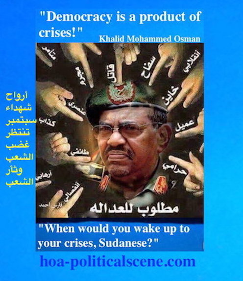 hoa-politicalscene.com/omar-al-bashers-indictment.html- Omar al Bashers Indictment: The Sudanese criminal and his criminal regime wanted by the international justice.
