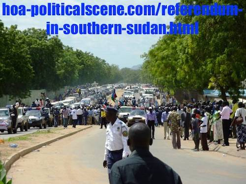 politicalscene.com/referendum-in-southern-sudan.html - Referendum in Southern Sudan: Secession destroys the integrity of the south.