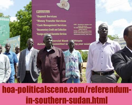 politicalscene.com/referendum-in-southern-sudan.html - Referendum in Southern Sudan: Secession of the South Sudan brings the war south. Just tab your head.