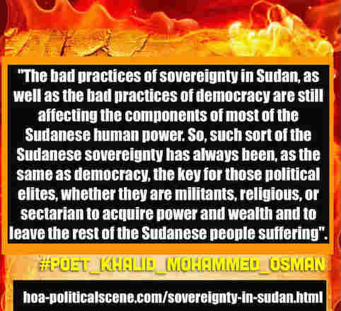 hoa-politicalscene.com/sovereignty-in-sudan.html: Sovereignty in Sudan: Sudanese interior revolution, January 2019.