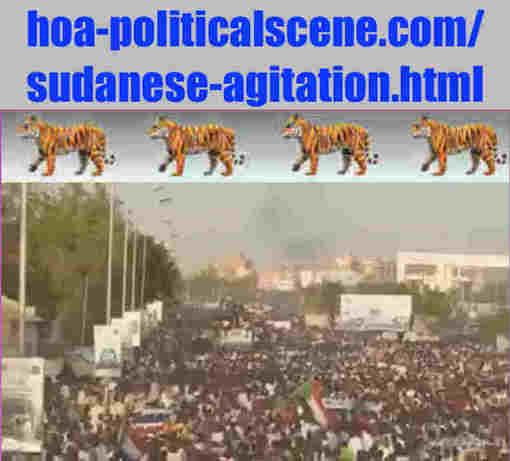 hoa-politicalscene.com/sudanese-agitation.html: Sudanese Agitation: هيجان سوداني. Revolutionary Ideas. نمو الأفكار الثورية السودانية. Sudanese uprising, April 2019.