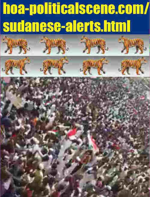hoa-politicalscene.com/sudanese-alerts.html: Sudanese Alerts: تنبيهات سياسية سودانية. Revolutionary Ideas. نمو الأفكار الثورية، الثورة السودانية. Sudanese uprising, April 2019.
