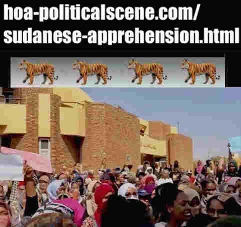 hoa-politicalscene.com/sudanese-apprehension.html: Sudanese Apprehension: إستيعاب سياسة سودانية. Revolutionary Ideas. نمو الأفكار الثورية، الثورة السودانية. Sudanese uprising, January 2019.
