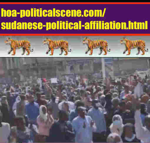 hoa-politicalscene.com/sudanese-political-affiliation.html: Sudanese Political Affiliation: إنتماء سياسي سوداني. Revolutionary Ideas. نمو الأفكار الثورية السودانية. Sudanese uprising, February 2019.