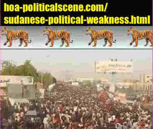 hoa-politicalscene.com/sudanese-political-weakness.html: Sudanese Political Weakness: مواطن ضعف سياسية سودانية. Revolutionary Ideas. نمو الأفكار الثورية السودانية. Sudanese uprising, April 2019.