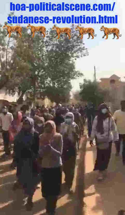 hoa-politicalscene.com/sudanese-revolution.html: Sudanese Revolution: يوميات الثورة السودانية في ديسمبر ٢٠١٨م. Diary of the Sudanese uprising in December 2018.
