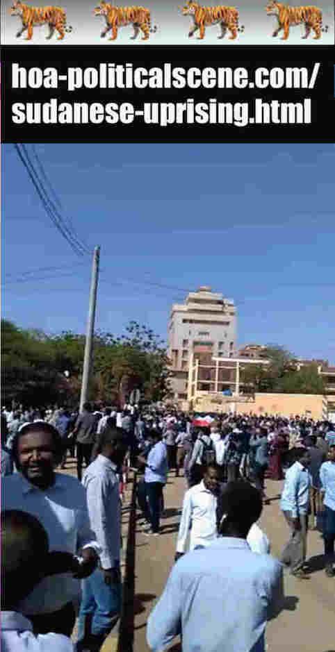 hoa-politicalscene.com/sudanese-uprising.html: Sudanese Uprising: يوميات الإنتفاضة السودانية في يناير 2019م. Diary of the Sudanese Intifada in January 2019.