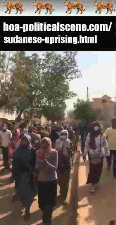 hoa-politicalscene.com/sudanese-uprising.html: Sudanese Uprising: يوميات الإحتجاجات السودانية في يناير 2019م. Diary of the Sudanese protests in January 2019.