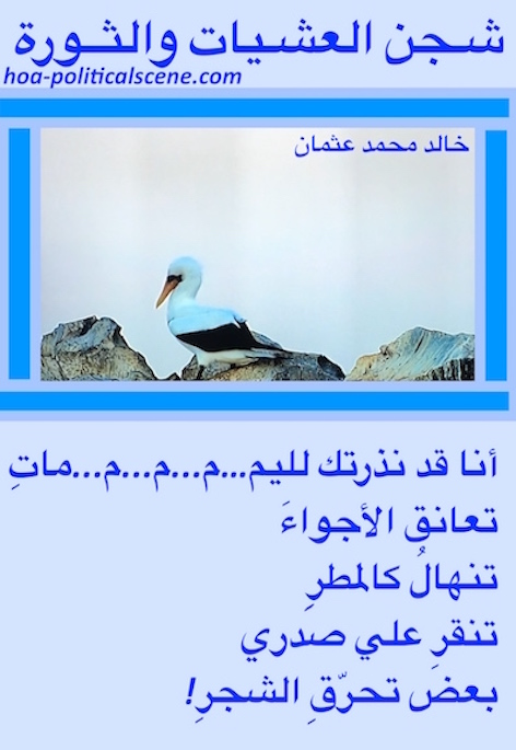 hoa-politicalscene.com/hoas-arabic-poetry.html - HOAs Arabic Poetry: Poetry snippet from