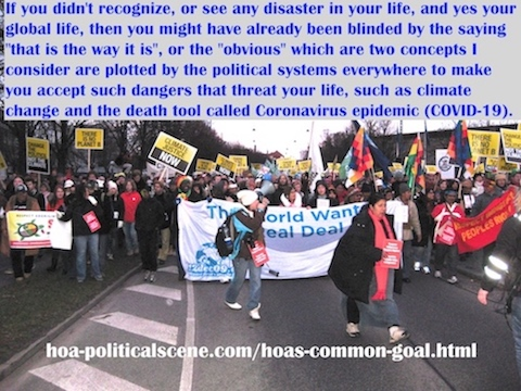 hoa-politicalscene.com/hoas-common-goal.html - HOA's Common Goal: If you didn't know of any disaster in your life, then you might have already been blinded by the plot of your political system.