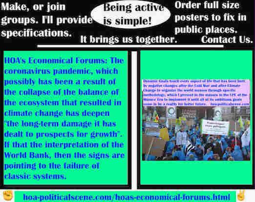 hoa-politicalscene.com/hoas-economical-forums.html - HOA's Economical Forums: Coronavirus pandemic has deepen