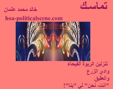 hoa-politicalscene.com - HOAs Poetry Aesthetics: Couplet of poetry from