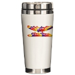 HOA's Poets Ceramic Travel Mug
