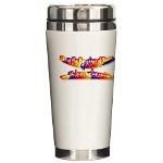 HOA's Poets Ceramic Travel Mug