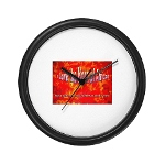 HOA's Poets Wall Clock