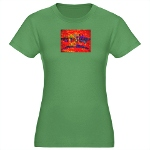 HOA's Refugee Womens Fitted T-Shirt (dark)