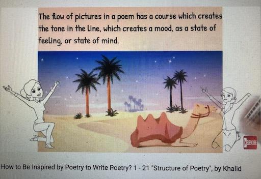 hoa-politicalscene.com/how-to-write-poems.html - How to Write Poems?: Teaching poetry writing methods, by veteran activist, journalist and poet Khalid Mohammed Osman.