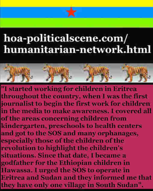 hoa-politicalscene.com/humanitarian-network.html - Humanitarian Network: Khalid Mohammed Osman's English political quote 3: Some leaders in the Horn of Africa control their people by fears.