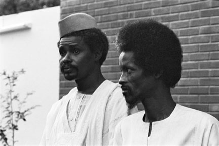 Chadian Political Problems: Hussein Habre and Goukouni Oueddei.