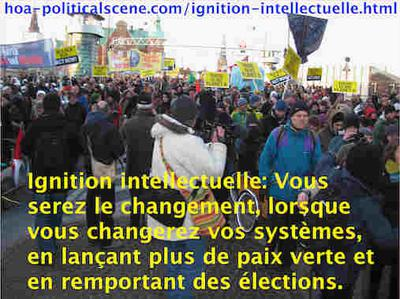 hoa-politicalscene.com/ignition-intellectuelle.html - Ignition intellectuelle: Vous serez le changement, lorsque vous changerez vos systèmes, en lançant plus de paix verte et en remportant des élections.
