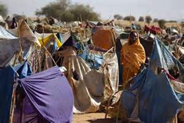 Darfur Crisis: Internally Displaced Fur People in el Fshir Camp, Sudan.